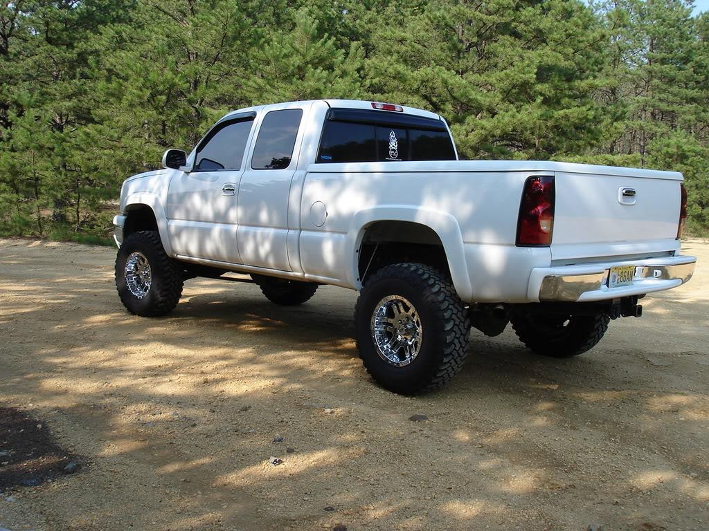 Any White Nbs Lifted Trucks Gmc Truck Forum