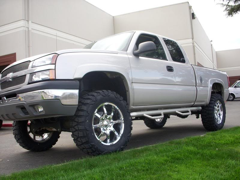 35 Inch Nitto Mud Grapplers With 20 Inch Rims Gmc Truck Forum