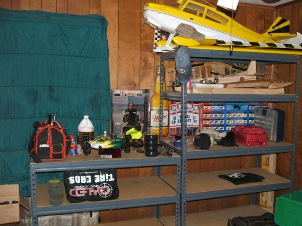 "Losi 2.0, Mustang plane and hydroplane under construction. 1/4 scale Citabria 104"" wingspan"