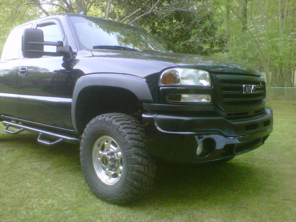 question 04 2500hd to fit 35 s cheap gmc truck forum question 04 2500hd to fit 35 s cheap