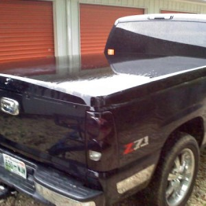 VHT Nightshade Tail Lights and Cargo, Lo Profile Tonneau Cover