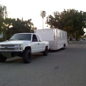 24ft. race trailer
