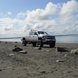 my truck on the beach, more pics in 'my truck'  pic album