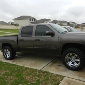 2008 silverado 20 x 10 predators 305 55 20 trail grapplers