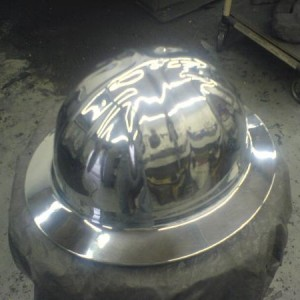 yes someone wanted there hard hat polished haha