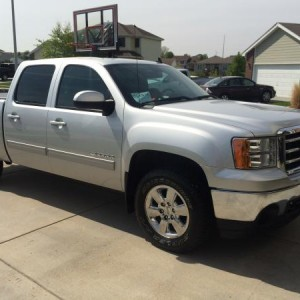 Our new (very slightly used) 2013 Sierra.
