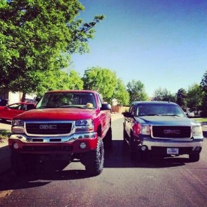 Next to a stock GMC