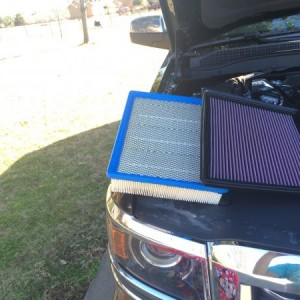 1st add on - K&N air filter