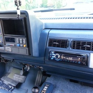 BIG BLUE STEREO INSTALL