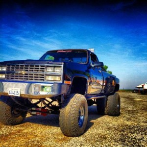 my lifted dually