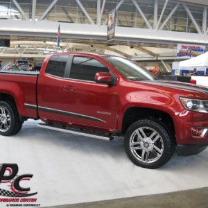 "2015 Chevy Colorado Double Cab Readylift Leveling Kit 20"" ATX AX190 Dune Wheels-PVD Coated Nitto Terra Grappler G2 Tires"