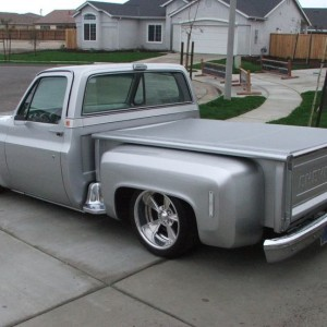 clean step side square body