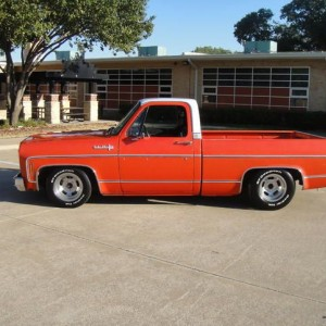 old school look, clean C-10 w/nice drop