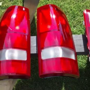 candied tail lights