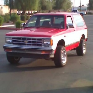 Lucas' 80 something S-10 Blazer