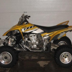 06 yfz 450 (now totaled)