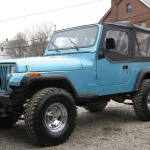 "YJ 4"" Rough Country 33's, Trail Rig... SOLD"