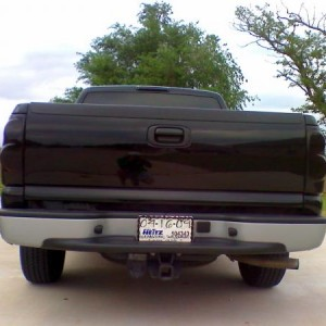 Blacked out tails & 3rd brake light