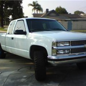 my truck when I first bought it