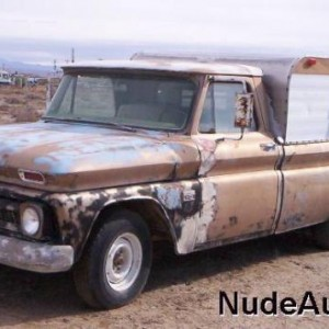 1966 Chevy Truck, why would anyone bother...