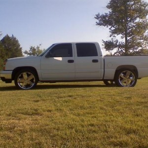 a week after i had it with tint and 22s